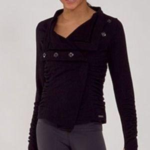 Lululemon Black Solace Jacket Size 6